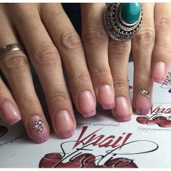 French millennium nails photo