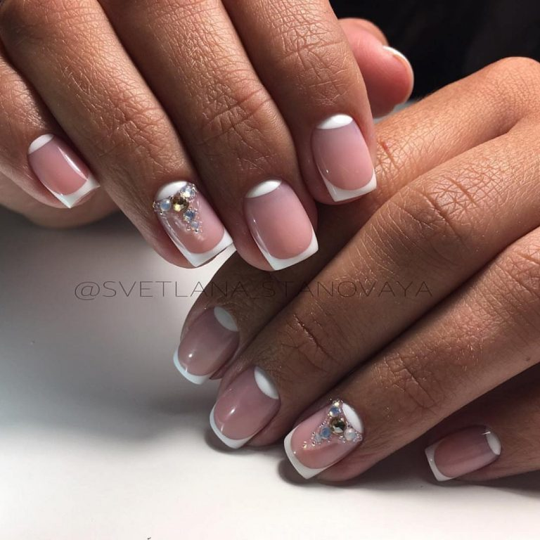 French nails - Nail Art #2417 - Best Nail Art Designs Gallery BestArtNails.com