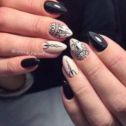 Abstract nail art photo