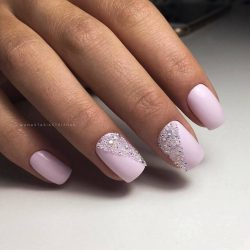 Gentle prom nails photo