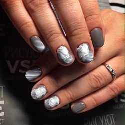Gray shellac photo