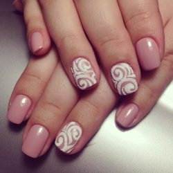 Sandy nails photo