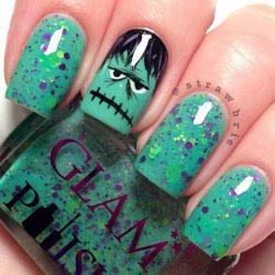 Frankenstein nails photo