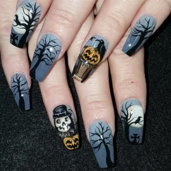 Skeleton nails the best images bestartnails skeleton nails photo prinsesfo Images