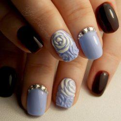 Fall short nails photo