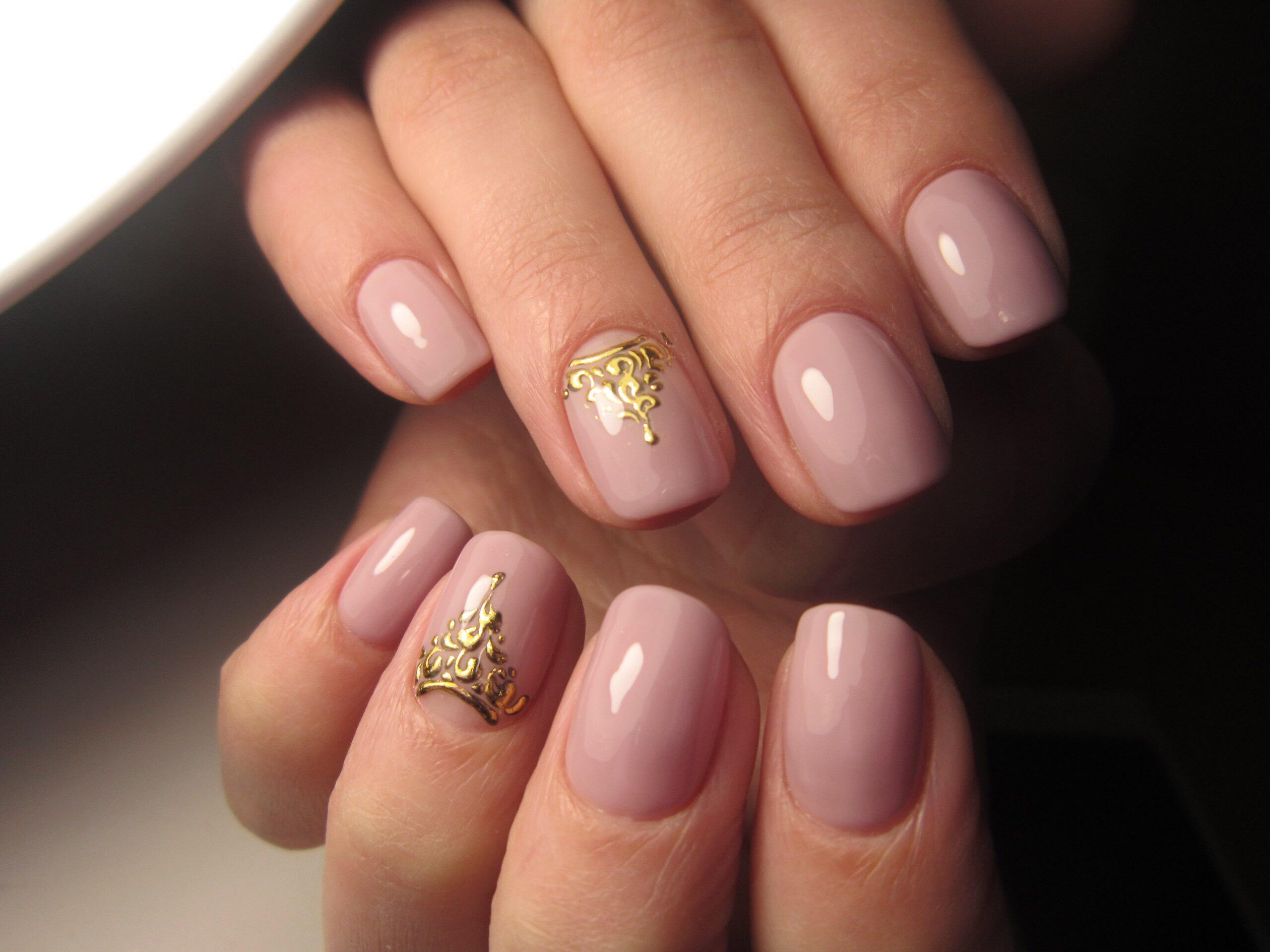 Ногти гель лак дизайн 2017 светлые