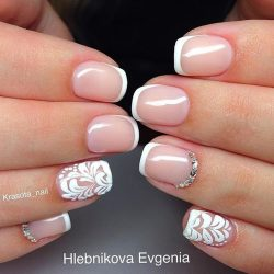 Wedding nails photo