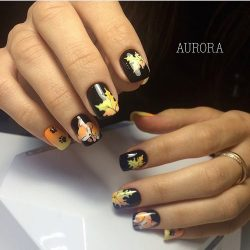 Fall nails 2016 photo