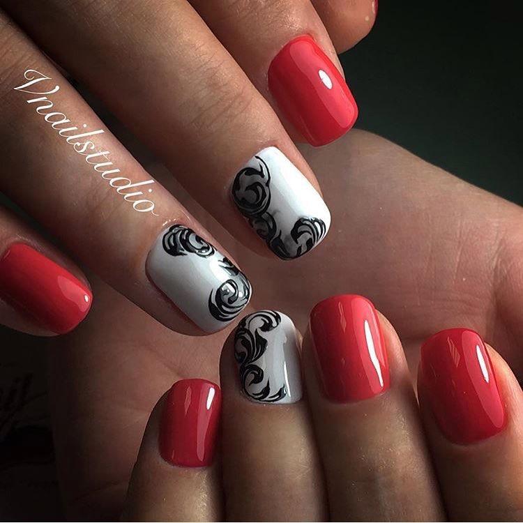 Beautiful autumn nails