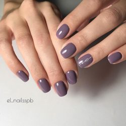 Fashion autumn nails photo