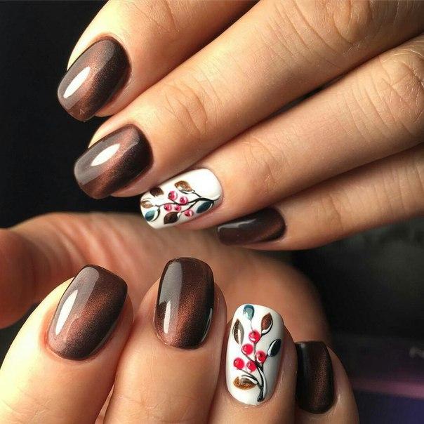 Cat eye nails by shellac