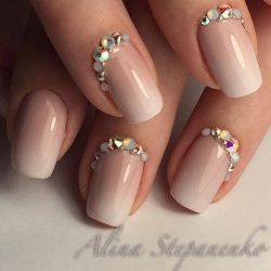 Winter gel polish for nails photo
