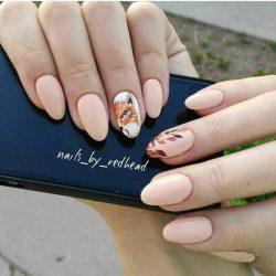 Fall nails ideas photo