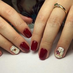 Party short nails photo