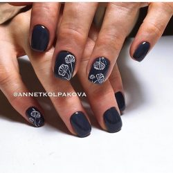 Fall nails trends photo