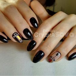 Painted nail designs photo