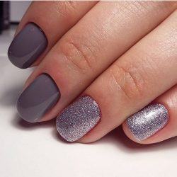 Grey nails ideas photo