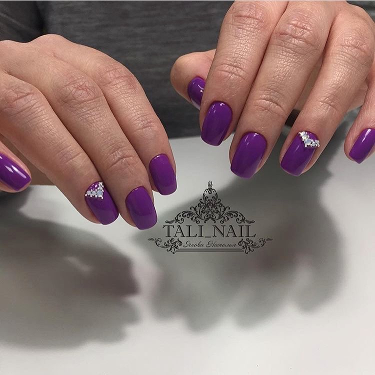 Ideas of plain nails
