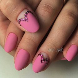 Hearts on nails photo