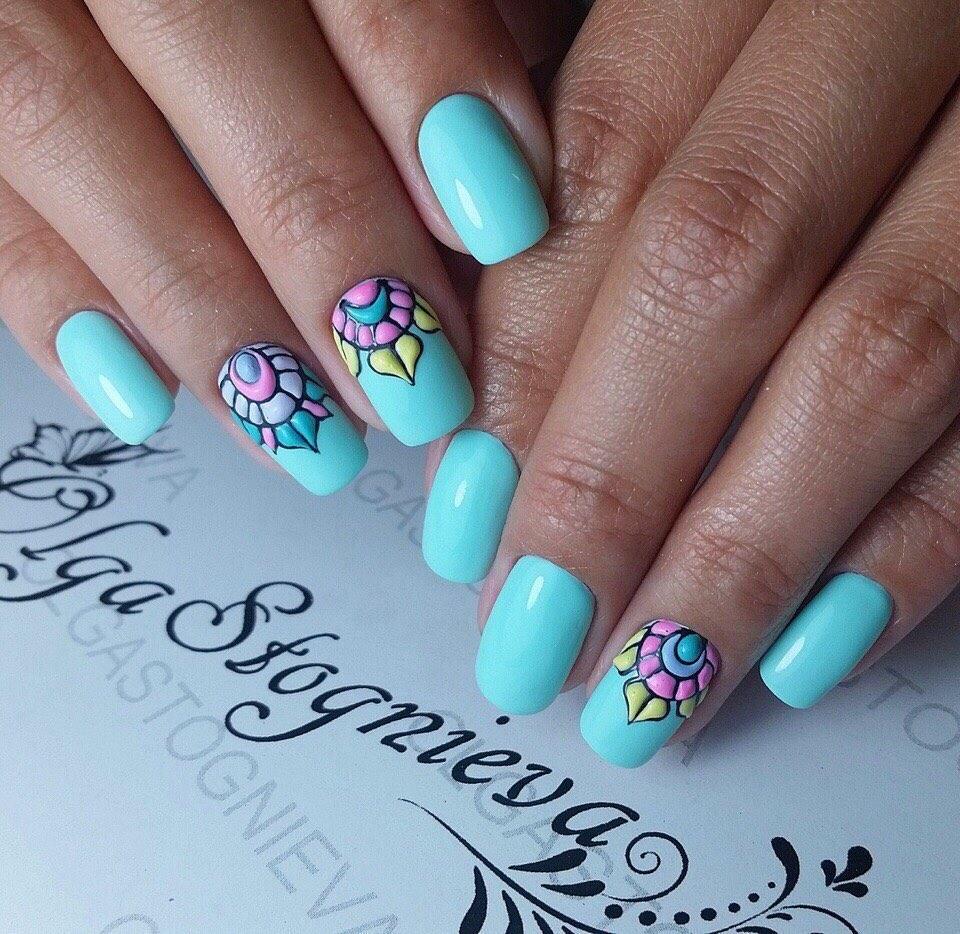 Bright summer nails ideas - Nail Art #2883 - Best Nail Art Designs Gallery BestArtNails.com