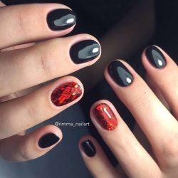 Miley Cyrus nails photo