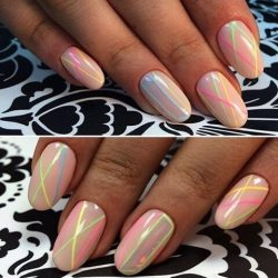 Ideas of colorful nails photo