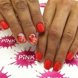 Bright summer nails ideas photo