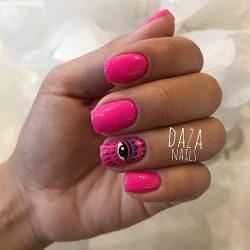 Neon nails photo