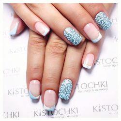 French nail art photo