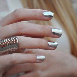 Disco nail photo