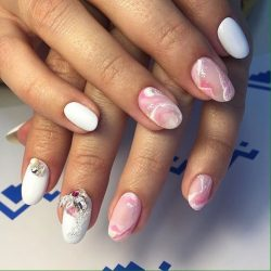 Marble nails photo