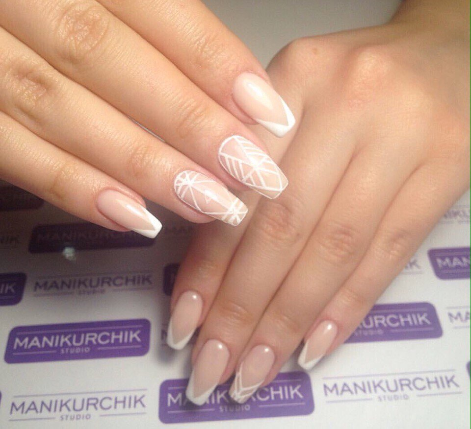 French manicure news 2017