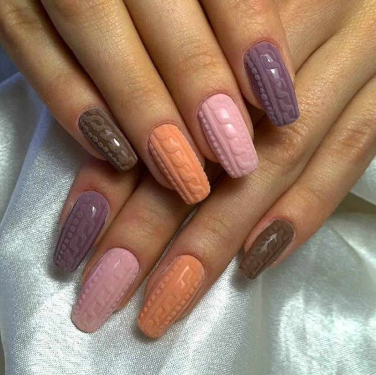 Gradient nails 2016