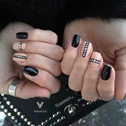 Beautiful winter nails photo
