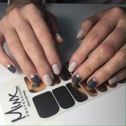 Beige nail art photo
