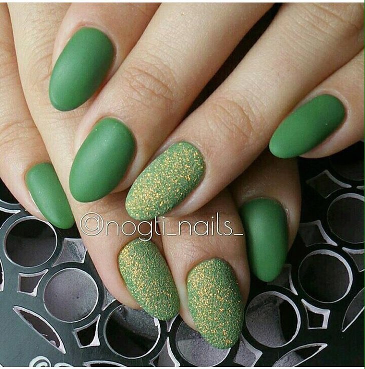 Ideas of matte nails