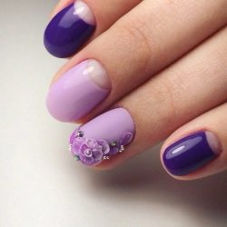 Beautiful moon nails photo