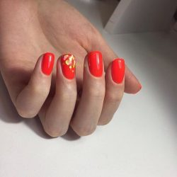 Plain nails photo