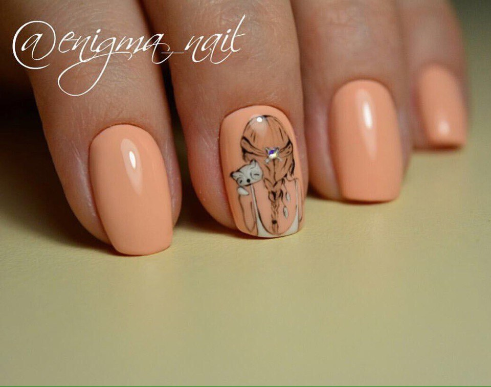 Manicure for young girls