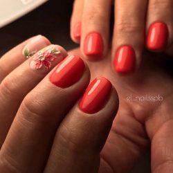 modeling nails photo