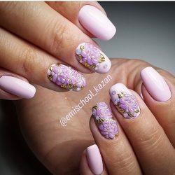 Wedding nails photo