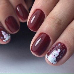 Winter nails 2017 photo