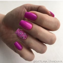 Pink manicure ideas photo