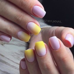 Gradient nails 2016 photo
