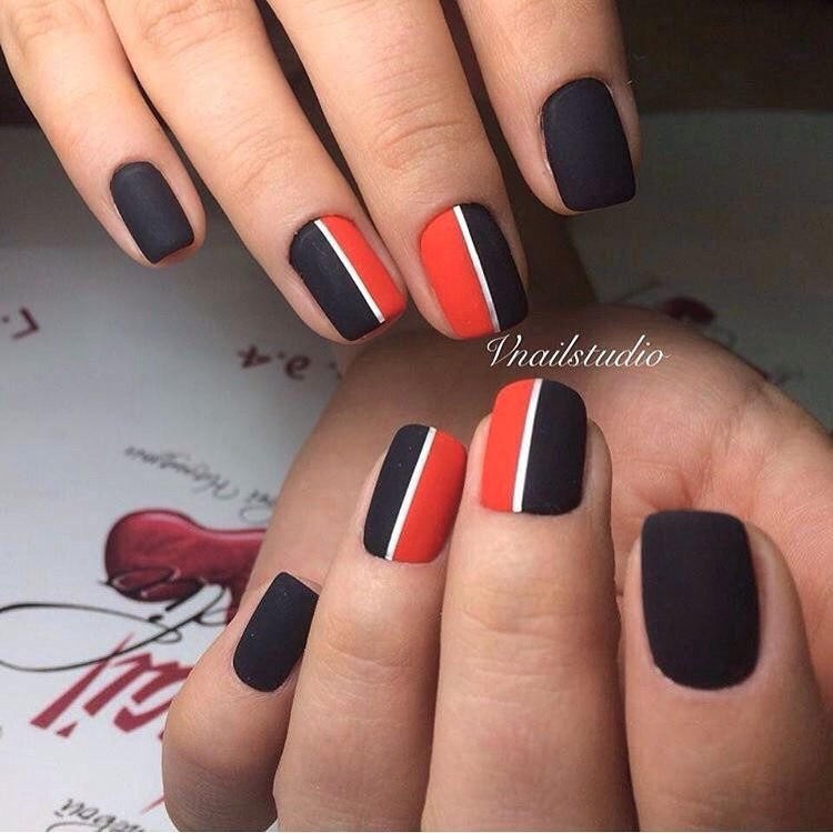 Nail art 3294 best nail art designs gallery bestartnails two color nails prinsesfo Gallery