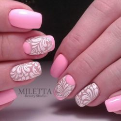 Pattern nails ideas photo