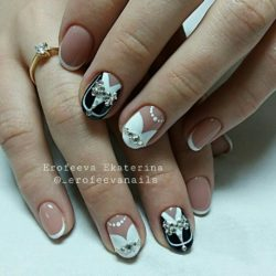 Original wedding nails photo