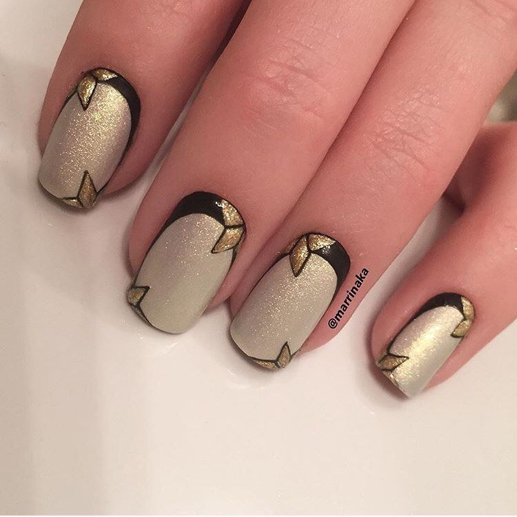 Reverse French manicure - The Best Images | BestArtNails.com