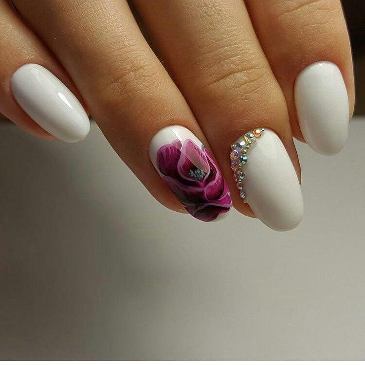 White nails ideas - The Best Images | BestArtNails.com