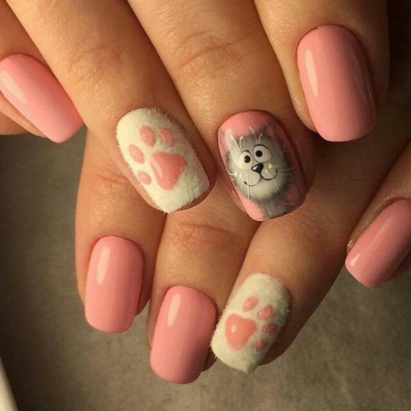 Cats on nails